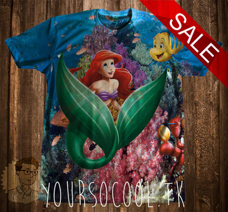 ariel disney ariel the little mermaid shirt disney punk