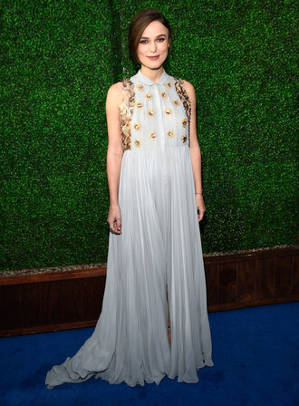 critics' choice movie awards keira knightley delpozo maxi dress dress