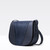 Modern V Stamped Lizard Small Shoulder Bag
