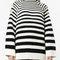 Alberta ferretti long sleeve striped jumper - farfetch