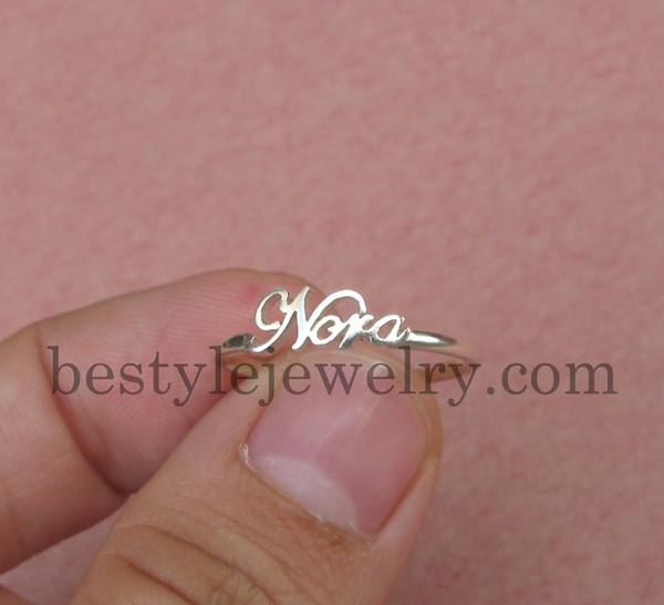 Jewels, Name Ring, Initial Name Ring, Jewelry, Bestyle.etsy.com, Gift Ideas, Gift Ideas