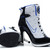 Nike Air Jordan 13 High Heels Shoes in White - Black/Blue Colors Womens