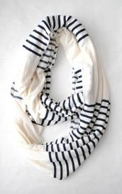 scarf,infinity scarf,stripes