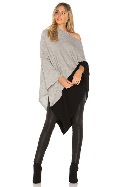 Michael Stars poncho black top