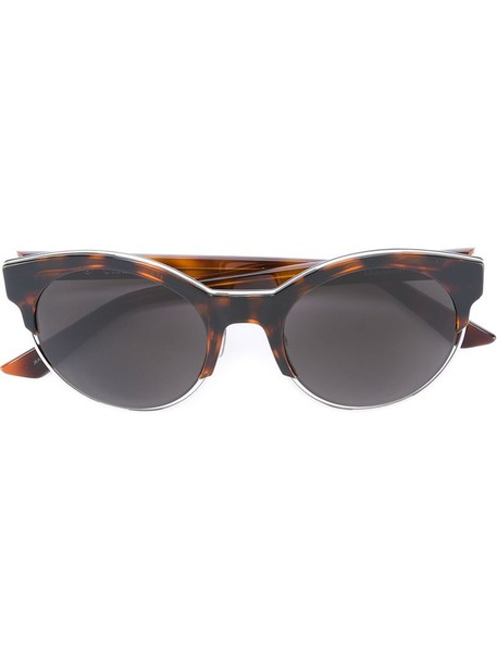 Dior Eyewear - 'Sideral 1' sunglasses - women - Acetate - One Size, Brown, Acetate