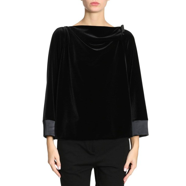 GIORGIO ARMANI shirt women black top