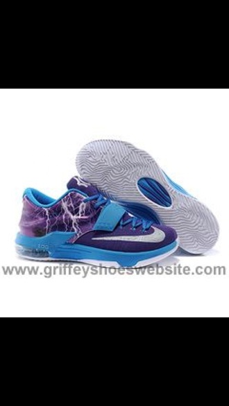 shoes lightning strikes kds purple shoes blue shoes