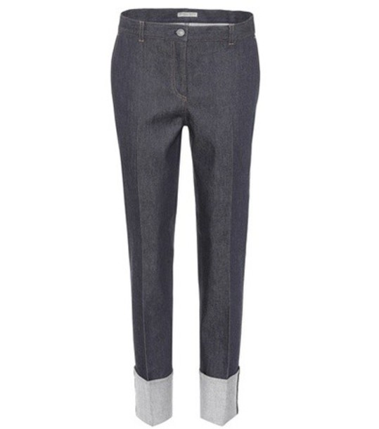 Bottega Veneta jeans cotton blue