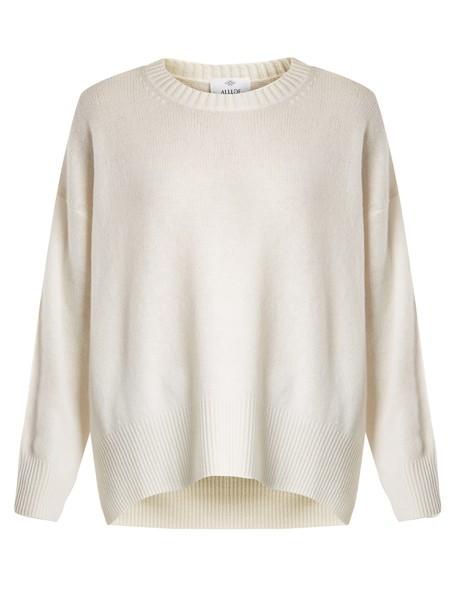 Allude sweater cream