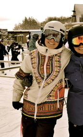 coat,skiing,snowboarding,winter outfits,jacket,print,aztec,native print,winter sports