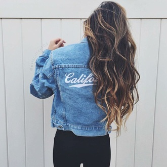 jacket denim blue jean jacket denim jacket california coat blue jeans tumblr summer blue jacket quote on it grunge usa