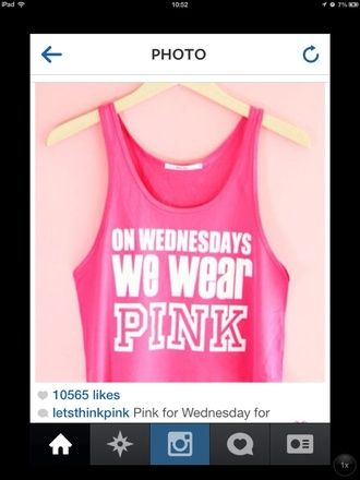 tank top mean girls pink crop tops graphic tee tumblr girl swag girly tumblr shirt tumblr tumblr clothes quote on it leggings shoes
