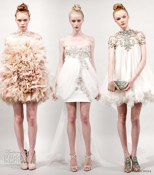 Marchesa Spring/Summer 2011 Ready-To-Wear Dresses | Wedding Inspirasi