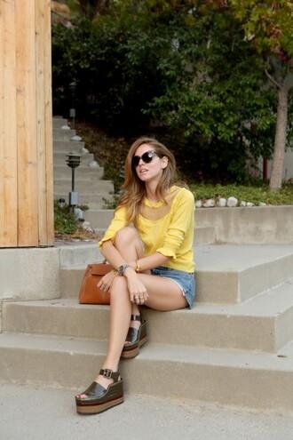 the blonde salad blogger jewels bag sunglasses