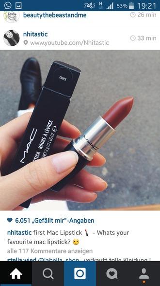 make-up mac cosmetics mac lipstick