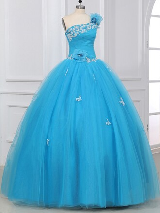 dress prom prom dress fabulous dressofgirl special occasion dress blue flowers ball ball gown dress floral blue dress sky blue light light blue crystal sparkle shiny love lovely long long dress maxi maxi dress fashion trendy girly cute cute dress sexy bridesmaid