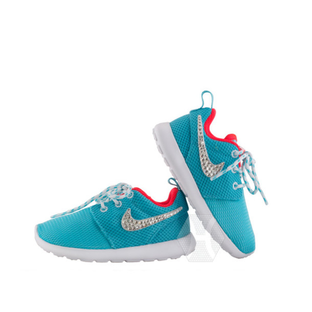Running shoes for girls nike blue
