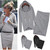 Wrap Skirt Hoodie Sweat Set   Outfit Made