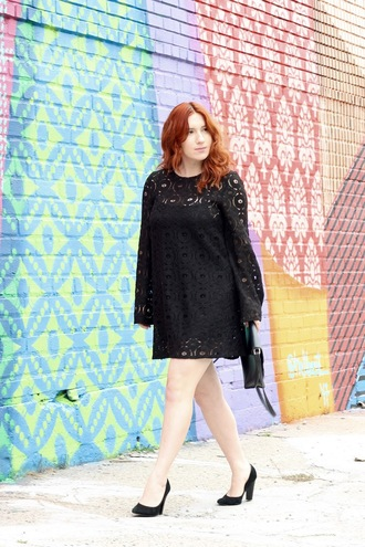 tf diaries blogger dress shoes bag long sleeve dress black dress pumps high heel pumps spring outfits summer outfits