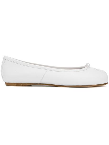 MAISON MARGIELA women shoes leather white