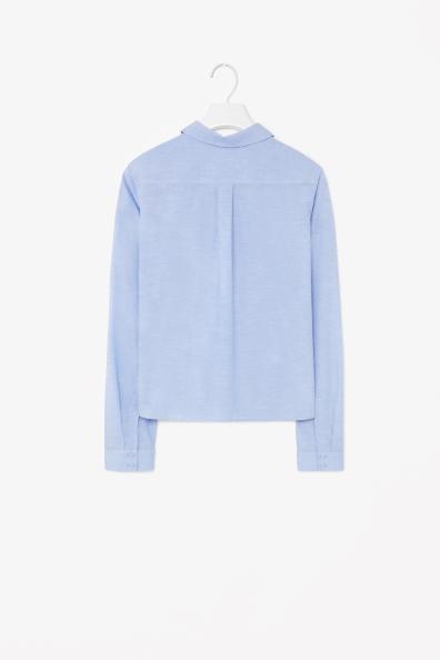 Cotton linen shirt