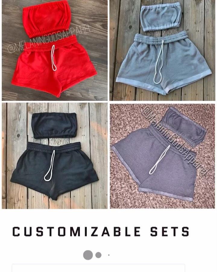 shorts, nike, crop tops, grey, set
