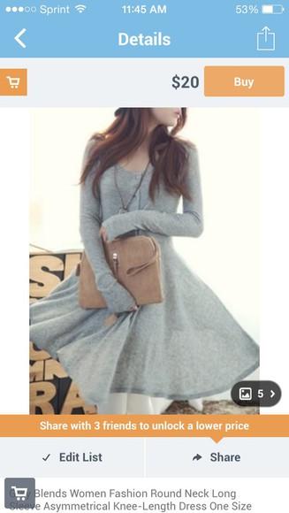 cotton lazy dress