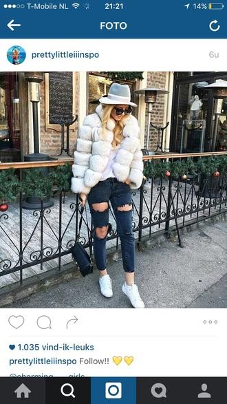 jacket white fur coat fashion musthave