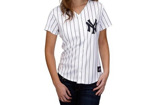 finest selection ee4f5 b01a2 yankees striped shirt