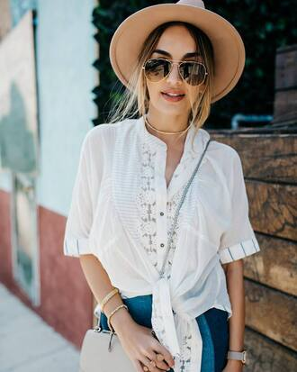 shirt hat tumblr white shirt sun hat sun aviator sunglasses sunglasses