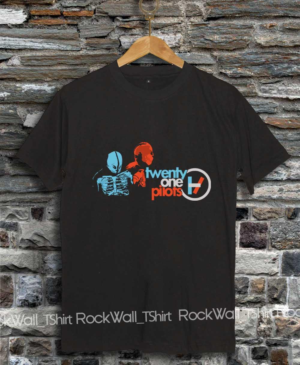 21 Pilots Shirt Tshirt T Shirt Twenty One Pilots Shirt Printed Black And