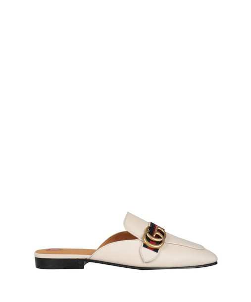 gucci slippers leather shoes