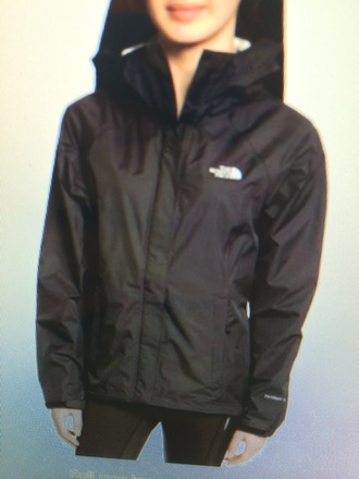jacket venture black rain north face