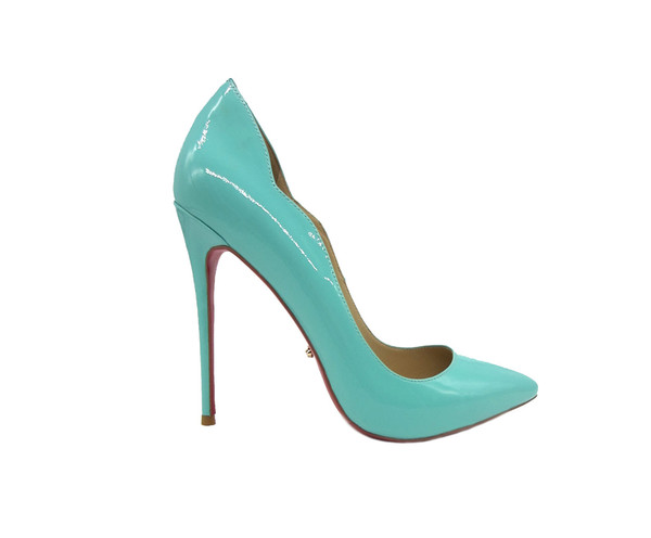 Glossy Mint Stiletto