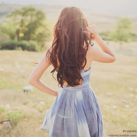 blue dress light blue hipster