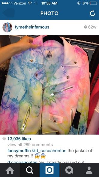 jacket unif multicolored