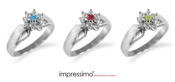 jewels ring engagement ring niebieski brylant impressimo czerwony brylant zielony brylant fancy diamonds color diamonds pierścionki zaręczynowe pierścionki