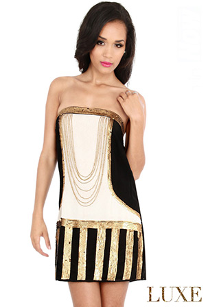 Decadent Flapper Dress