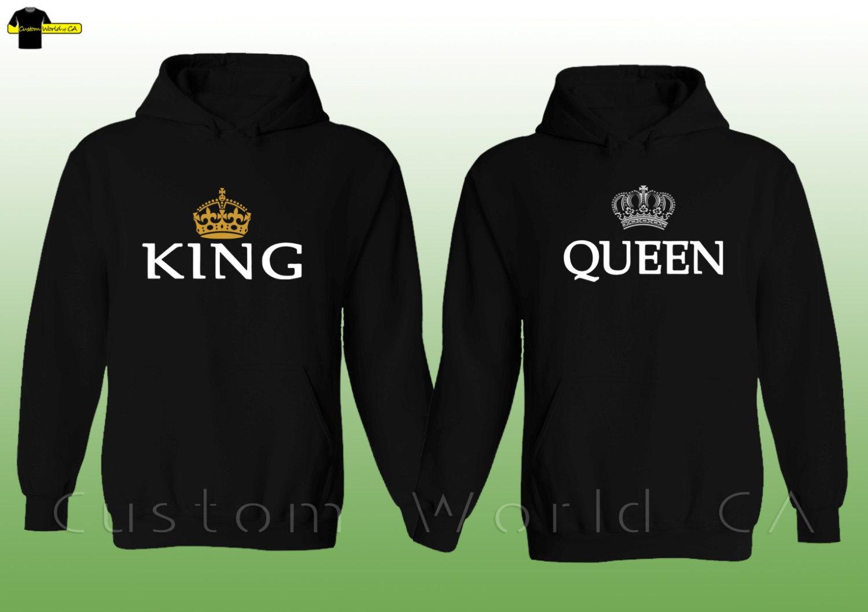 couple hoodie king queen sweatshirt. Black Bedroom Furniture Sets. Home Design Ideas