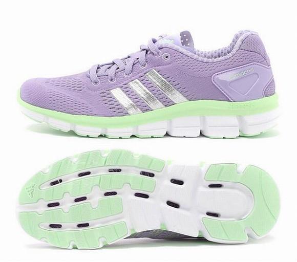 women fashion shoes adidas climachill ride running trainers purple dress 2014SS
