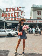 gracefullee made,blogger,skirt,jacket,shoes,jewels,hat,bag,top,sunglasses