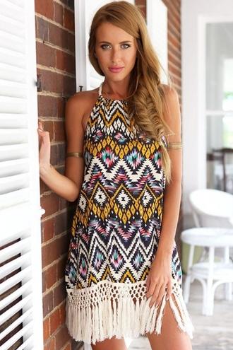 dress chic argyle prom dress stylish boho dress boho