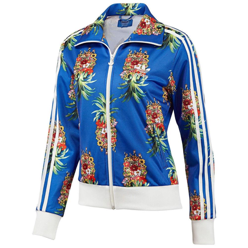 Adidas originals firebird track jacket tt frutaflor flower f78106 rare limited