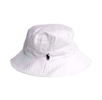 white ralph lauren bucket hat