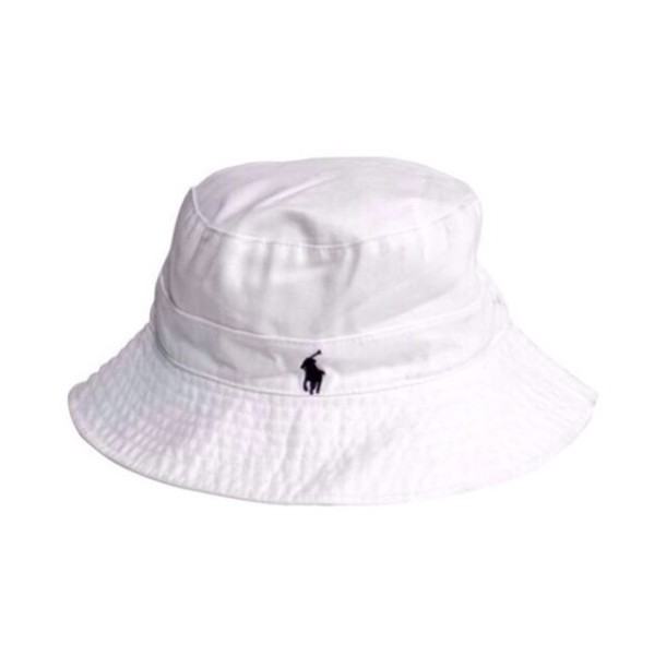 2b78b4c0743b2 hat ralph lauren bucket hat white
