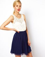 navy,skirt,lace top,home accessory