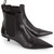 Black Dixie Pointed Kitten Heel Boots