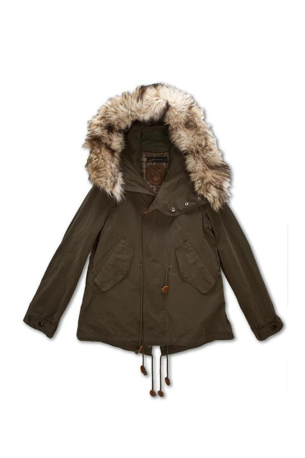 parka capuche en fourrure synth tique collection manteaux collection femme zara france. Black Bedroom Furniture Sets. Home Design Ideas