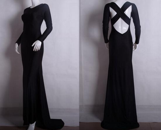 Halter bodycon maxi dress