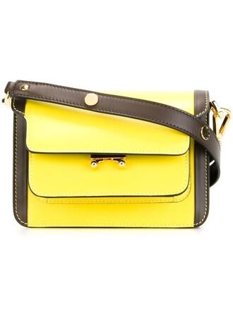 mini bag shoulder bag yellow orange